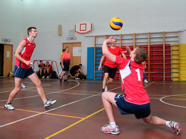 Корпоративные тренировки волейбол