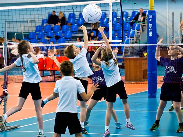 Секция волейбола для детей в Казани